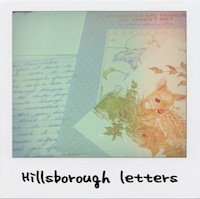 Letters to my family from Hillsborough survivors